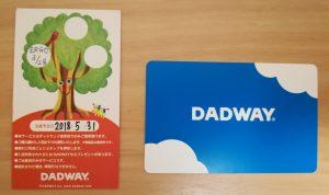 DADWAYのポイントガード2枚