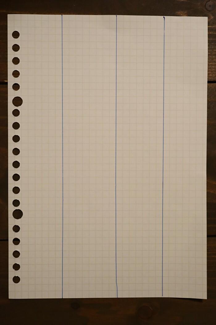 づんの家計簿を参考にした自分の家計簿の写真