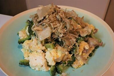 瀬尾幸子のレシピで作ったゴーヤチャンプル