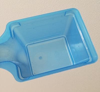 海外版オキシクリーンに付属している軽量スプーンを真上から見た写真