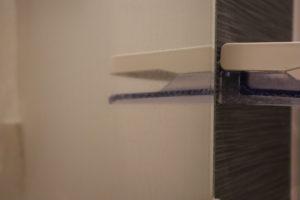 オキシクリーンを使う前のお風呂場の鏡