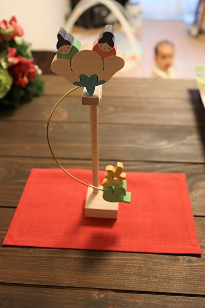 小黒三郎さんの雛飾り