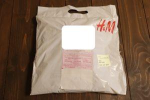 H&Mオンラインで購入したものを返品するときのショッピング袋の入れ方