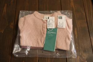H&Mオンラインで購入したピンクのロンTを返品する際の袋の入れ方
