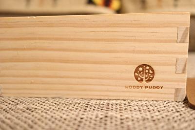 ウッディプッディのおままごとセットの木の箱