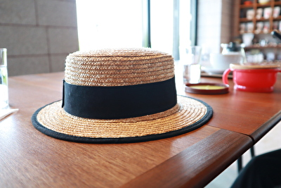 ZARABABYの麦わら帽子
