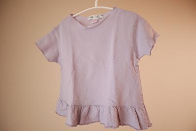 ZARABABYの薄紫のTシャツ